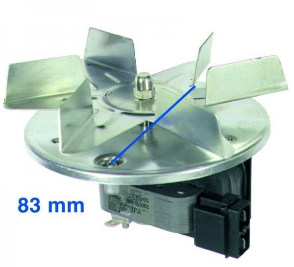 Heißluftherdventilator kpl. Passend wie Bauknecht DeDietrich Privileg AEG D92x4080 54879 48193611807