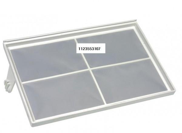 Flusensieb für Schublade AEG Privileg Electrolux 1123553107