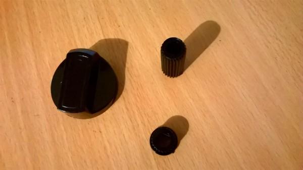 Schaltknebel/Schaltgriff universal schwarz
