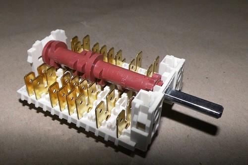 Backofenschalter 11HE242 Original Dreefs (8061791 ersetzt Amica 8062895 Gottak 800810K)