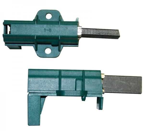 """Kohlen kpl. 6,3mmAMP """"grün"""" passend wie Beko Candy Arcelik 371202405 L24MF 7371202410 L93MF7 490289"""