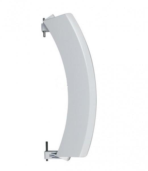 Türgriff weiß, mit Achsen passend wie Bosch Siemens 00751782 (Hochqualitativer Alternativartikel)
