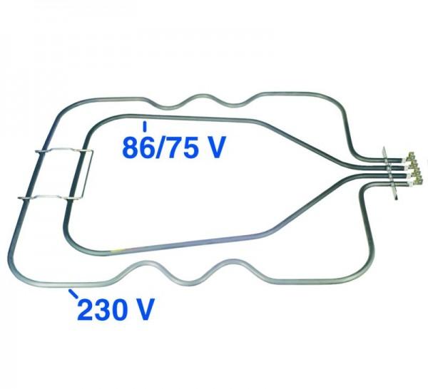 Heizelement Unterhitze 1350/1500W 230V/86/75V ET2080420399