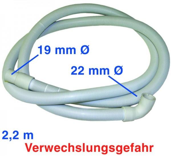Ablaufschlauch 2,2m 19/22mmØ ET2010620649