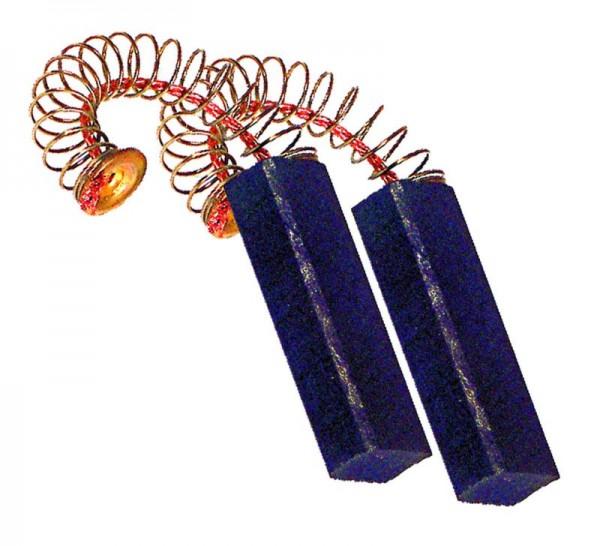 Kohlen 6,4x10x31mm mit Kabel Feder Teller