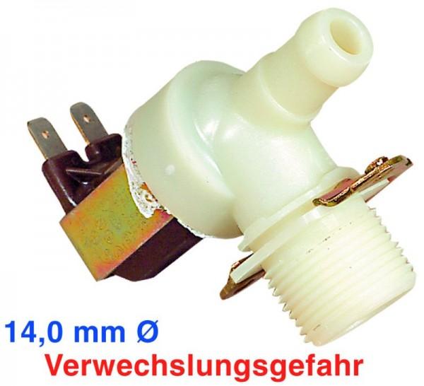 Magnetventil 1fach 90° 14,0mmØ einsetzbar für 899645174790/2