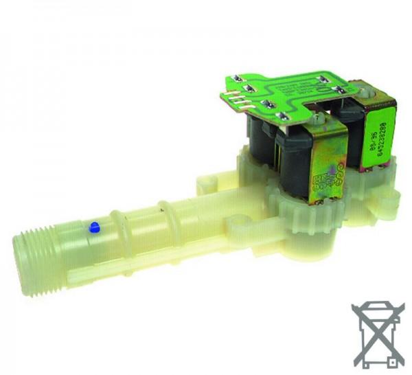 Magnetventil 3fach 90° 10,0mm angeflanscht passend wie AEG Privileg 6451752601 8996451752506 8996452