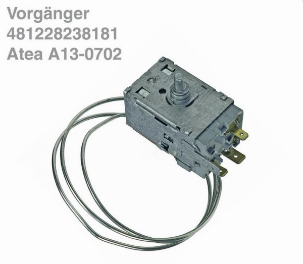 Thermostat A13-0702 Atea (von Bauknecht erstzt durch K59-L1229 mit Fassung)