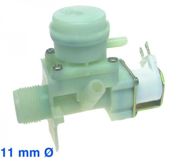 Magnetventil 1fach 90° 11,0mmØ AEG Privileg passend wie 8996464026971